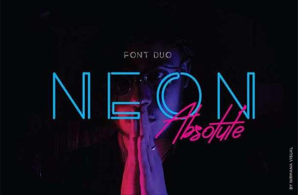 Neon Absolute Sans Font