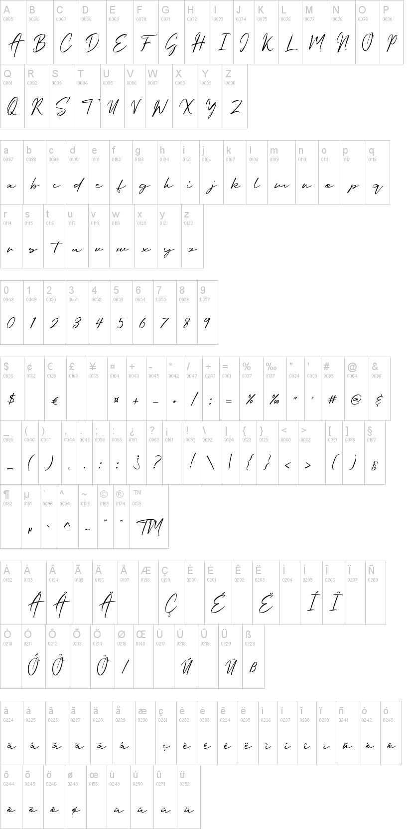Oriflame Script Font-1