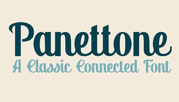 Panettone Font