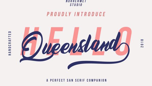 Queensland Font