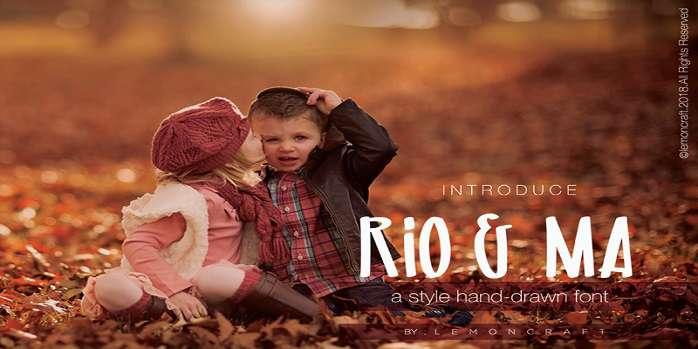 Rio & Ma Font