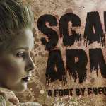 Scare Arms Font