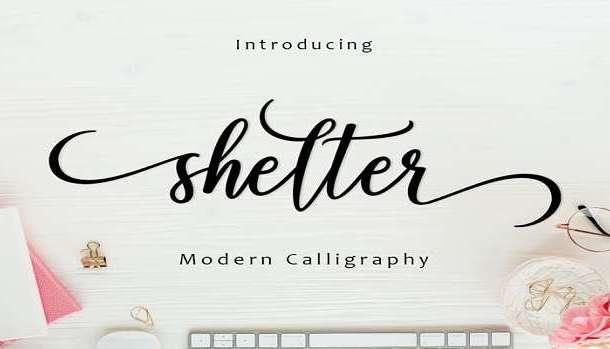 Shelter Font