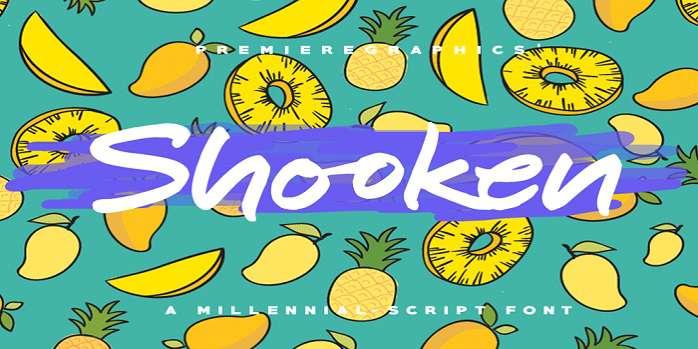 Shooken Font