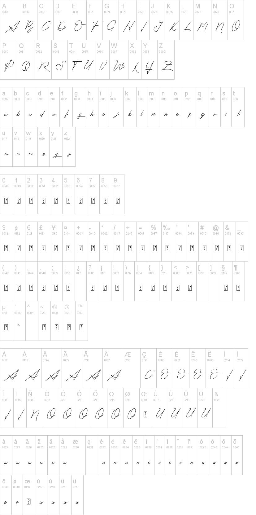 Signatrust Font-1