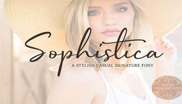 Sophistica Font