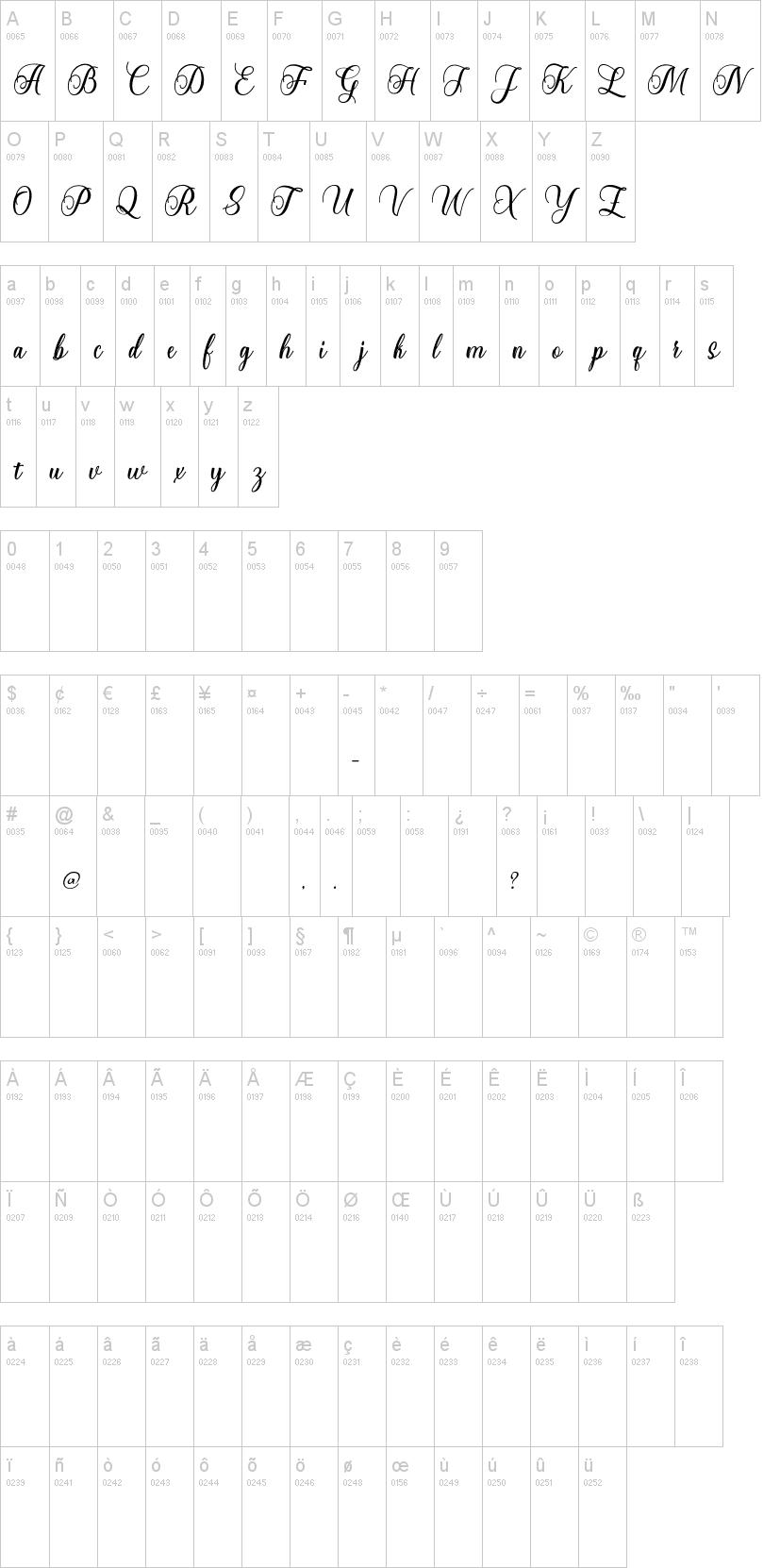 Starlive Script Font-1