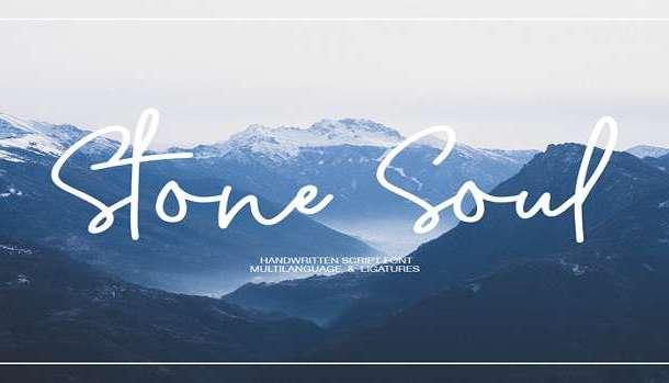 Stone Soul Font