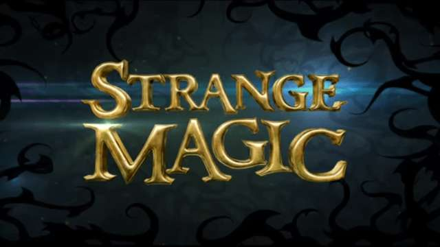 Strange Magic font