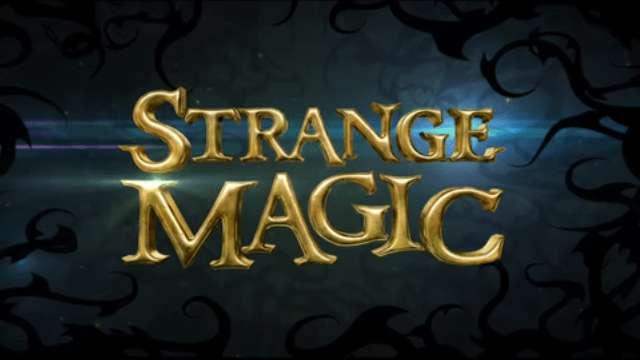 Strange Magic font