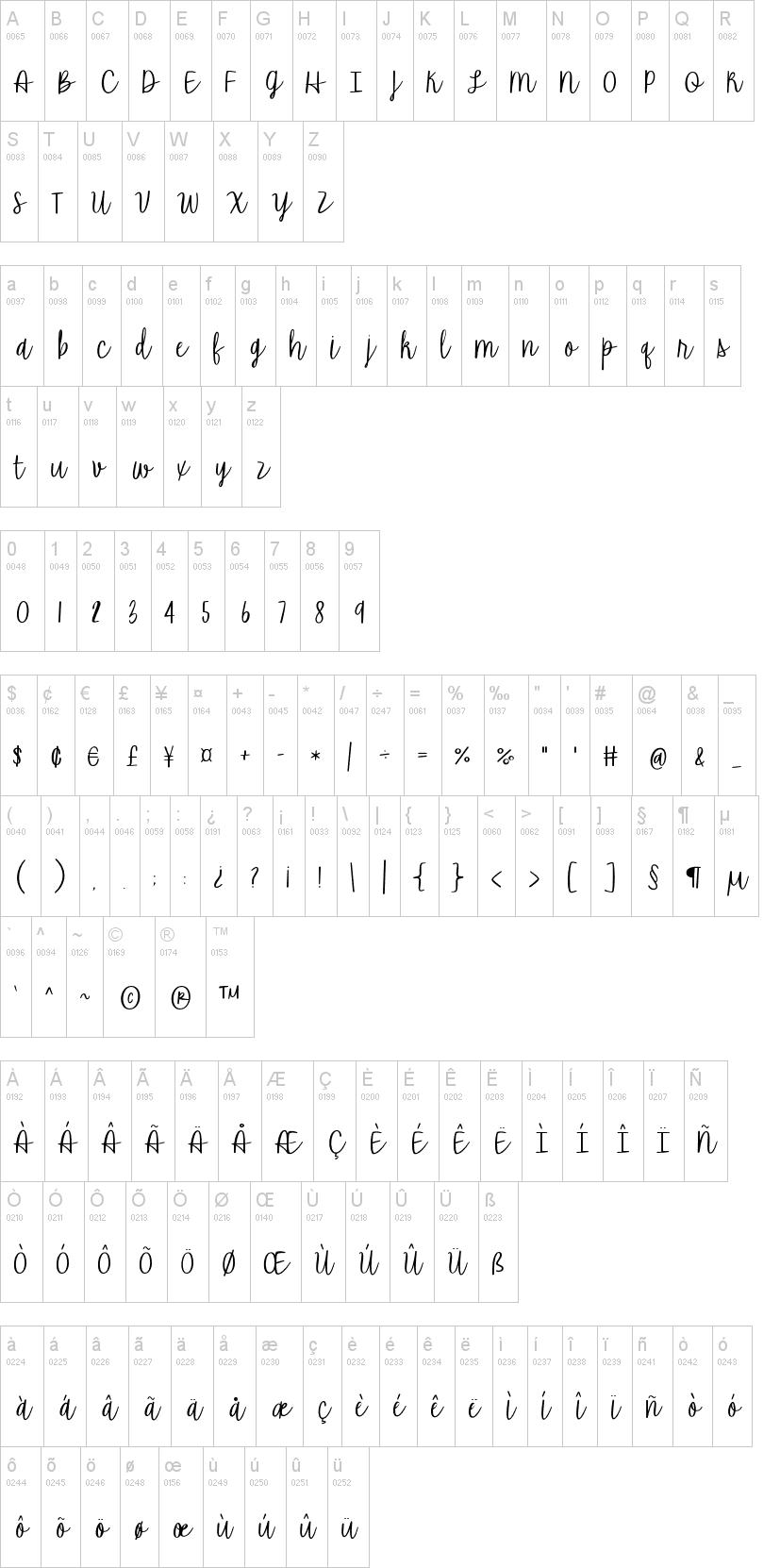 The Road Ahead Font-1