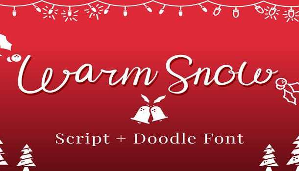Warm Snow Font