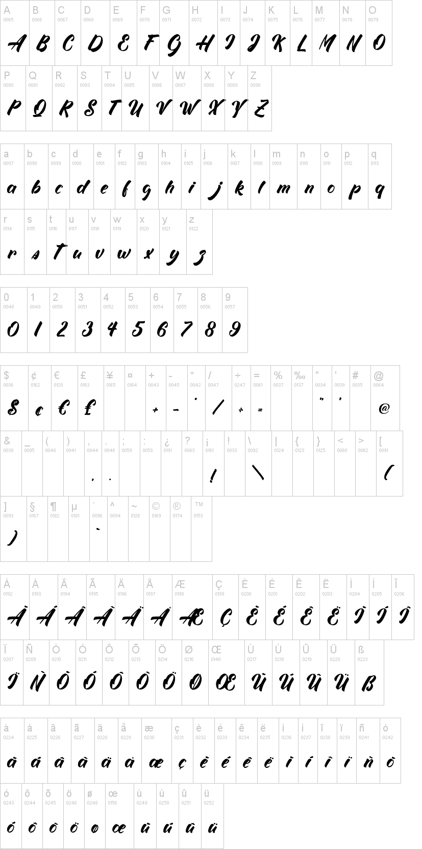 White Mackintosh Font-1