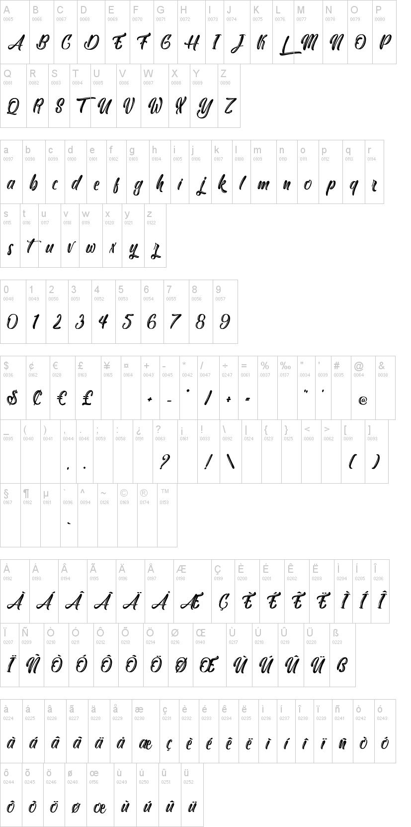 Yakuza Lobster Font-1