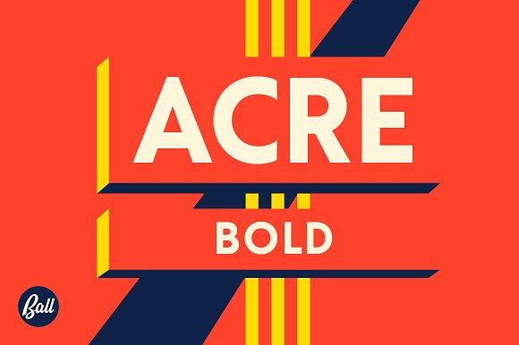 Acre font - Dafont Free