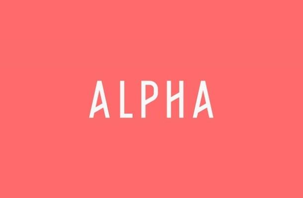 Alpha Font Family