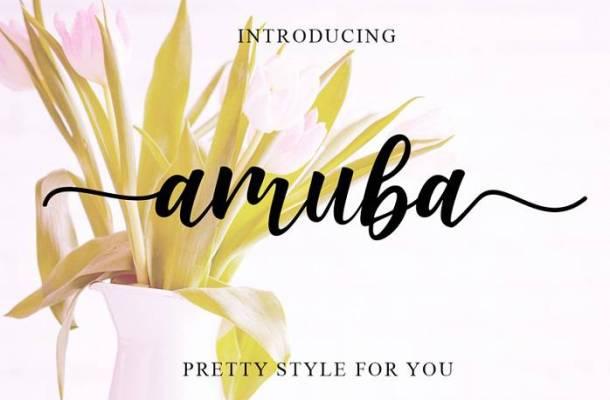 Amuba Font