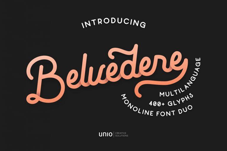Belvedere Font Duo