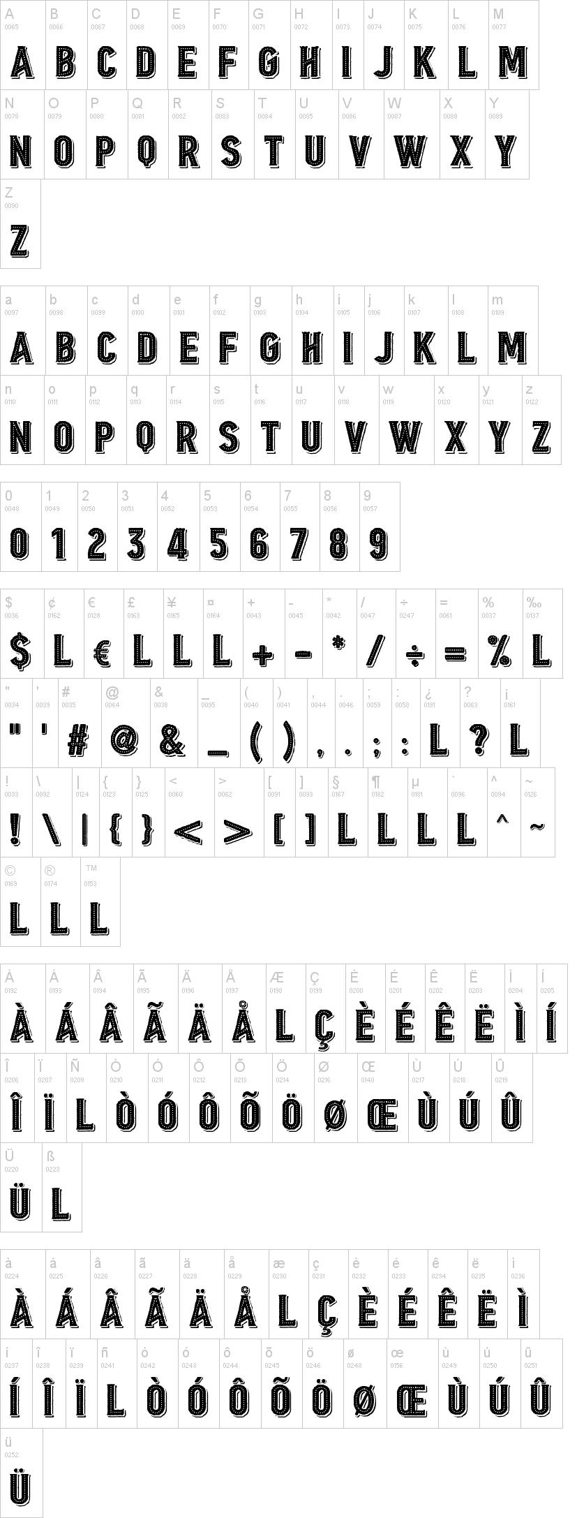 Borgens Burlesque Font-1