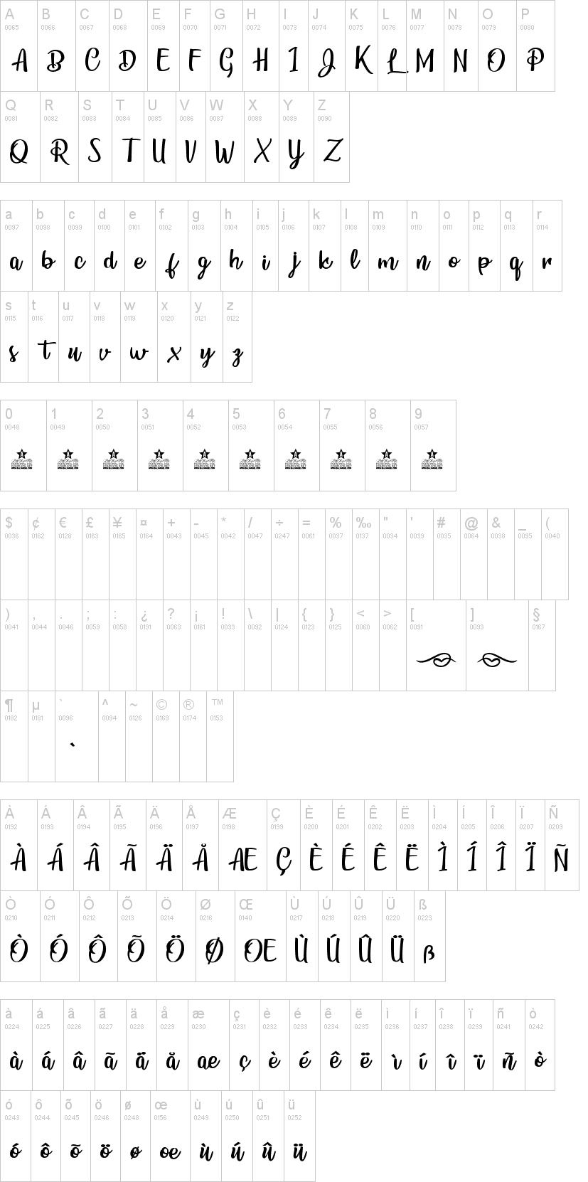 Bunch Blossoms Font-1