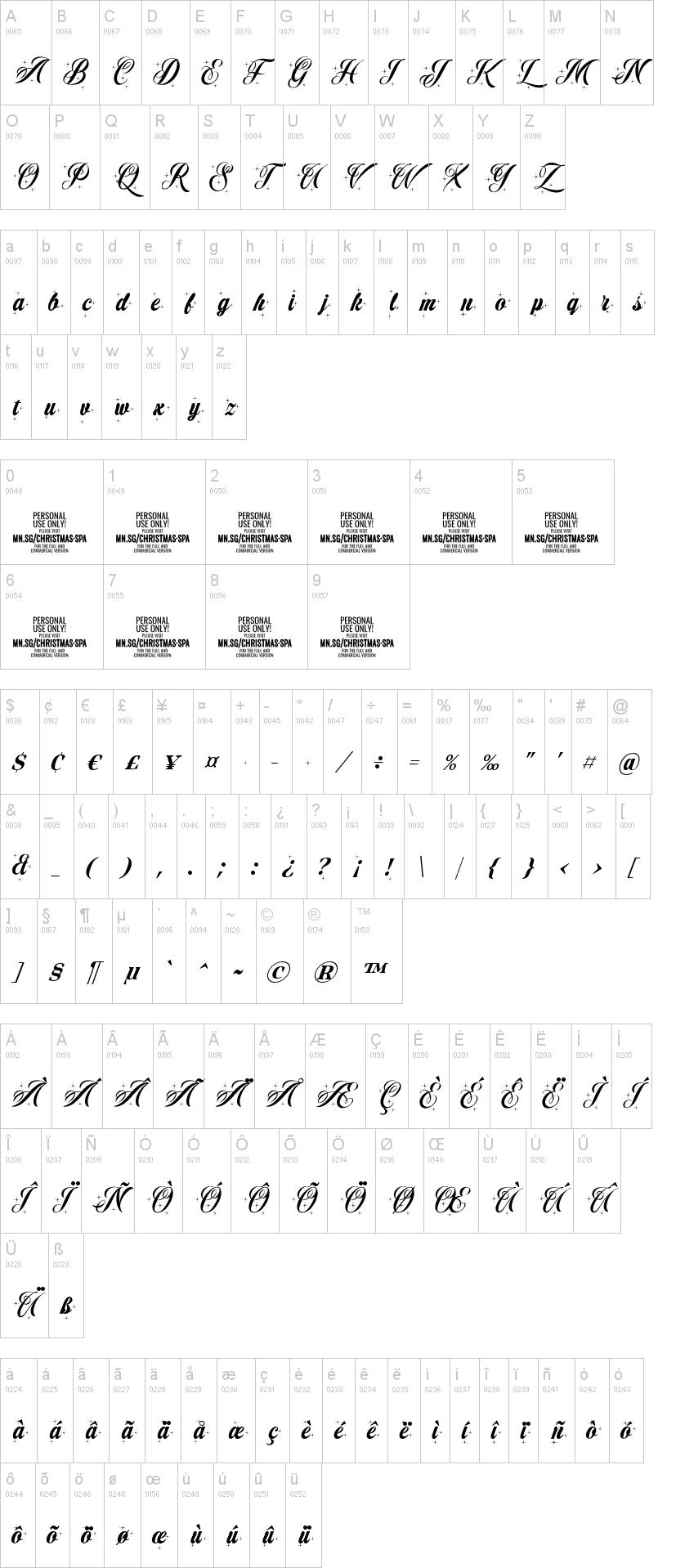Christmas Sparkle Font-1