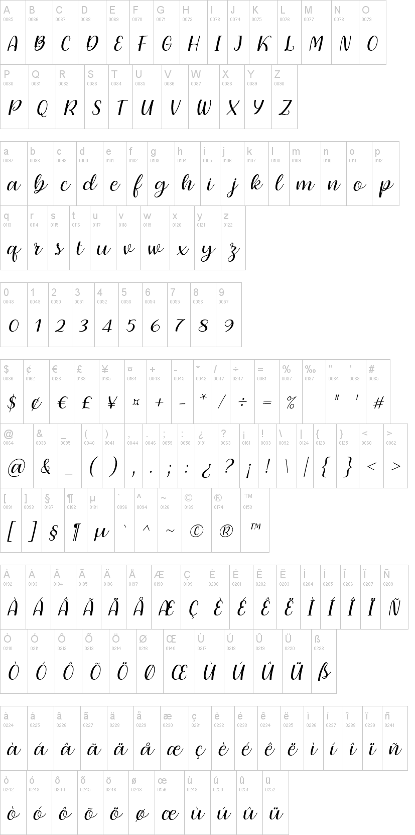 Dearly Loved One Font-1
