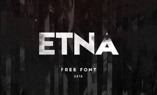 Etna Typeface