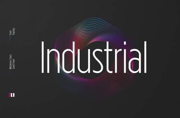 Industrial Sans Font Family