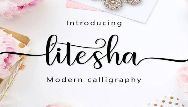 Litesha Font