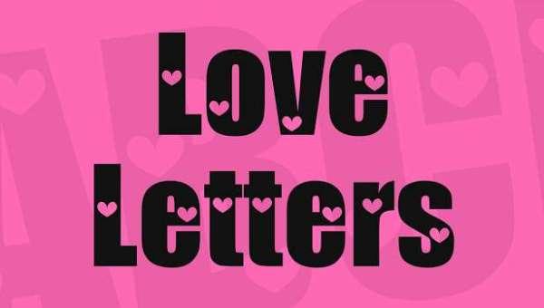 Love Letters Font