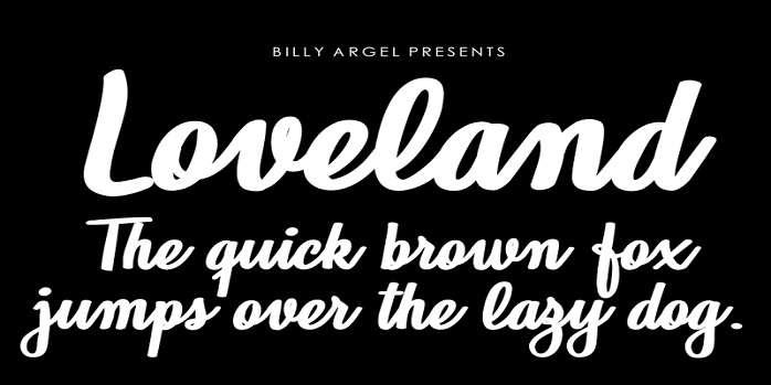 Loveland Font