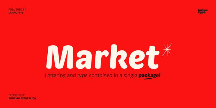 Market Font Family