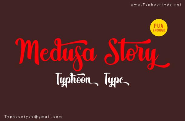 Medusa Story Font