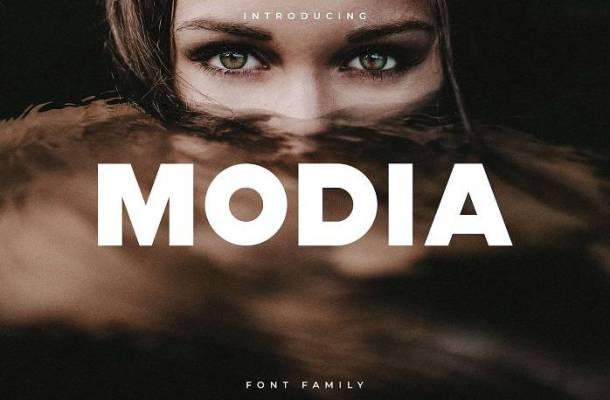Modia Font Family