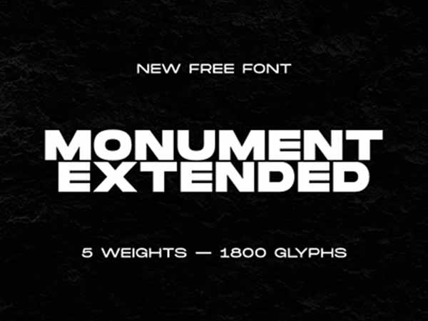 Monument Extended Font-1