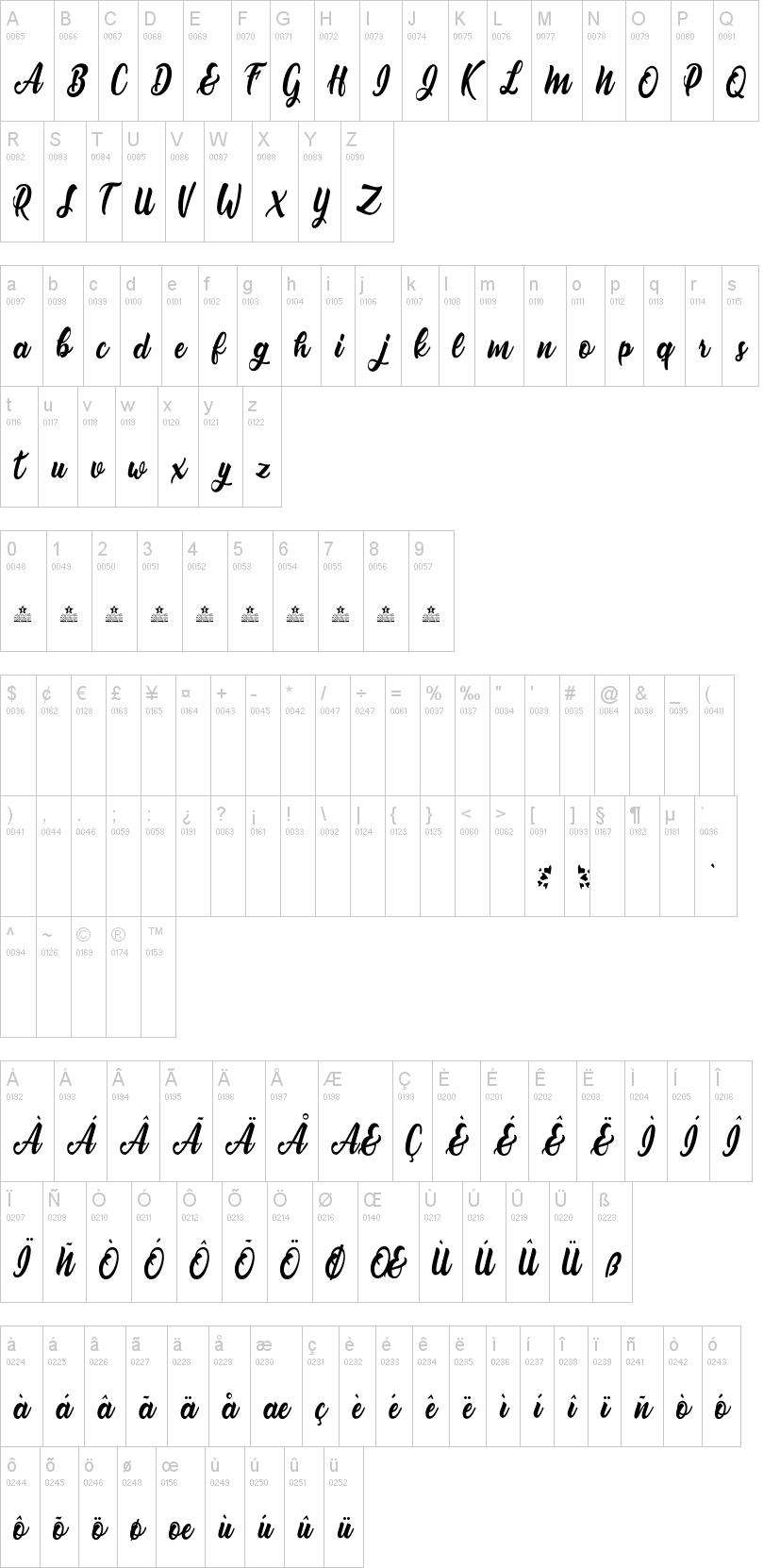 Nirvana Font-1