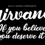 Nirvana Font