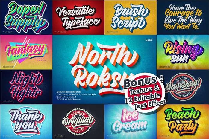 North Roksy font