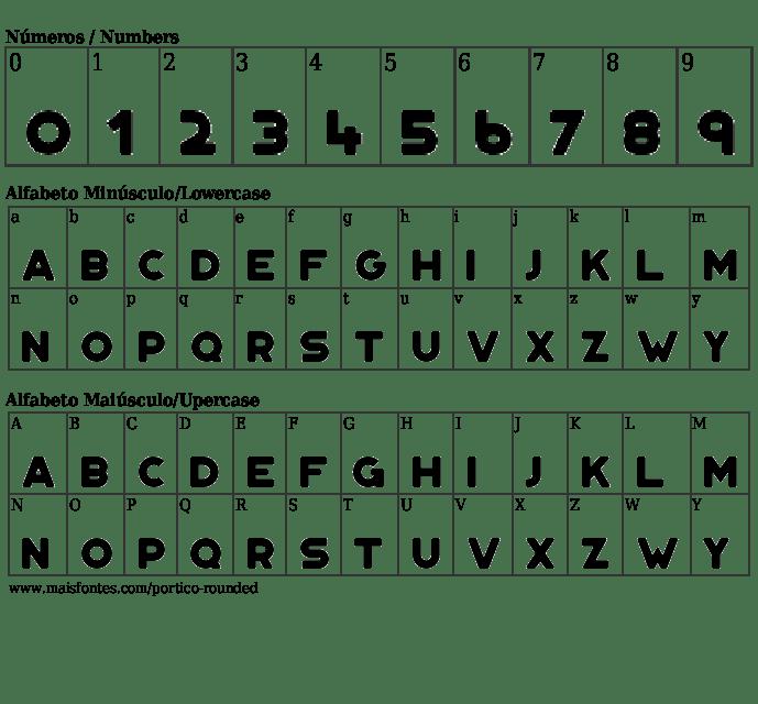 Portico font-1