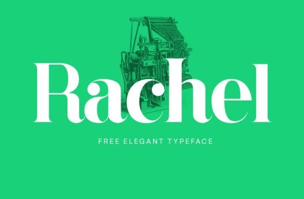 Rachel Typeface