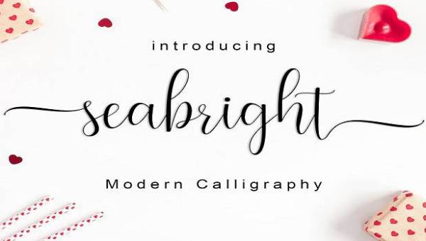 Seabright Script Font