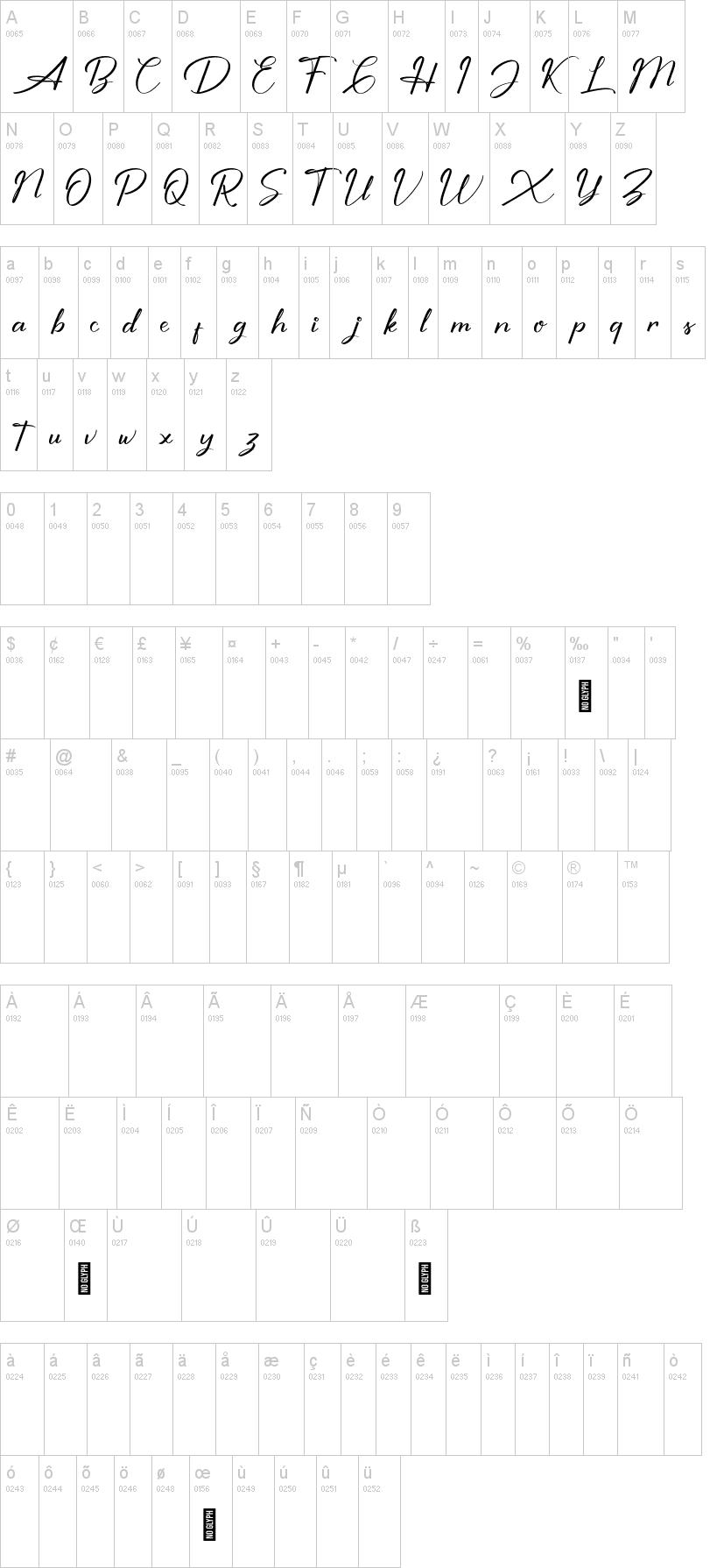 Shutter Braille Font-1