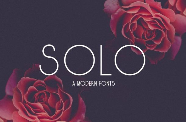 Solo Typeface