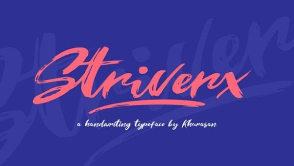 Striverx Font