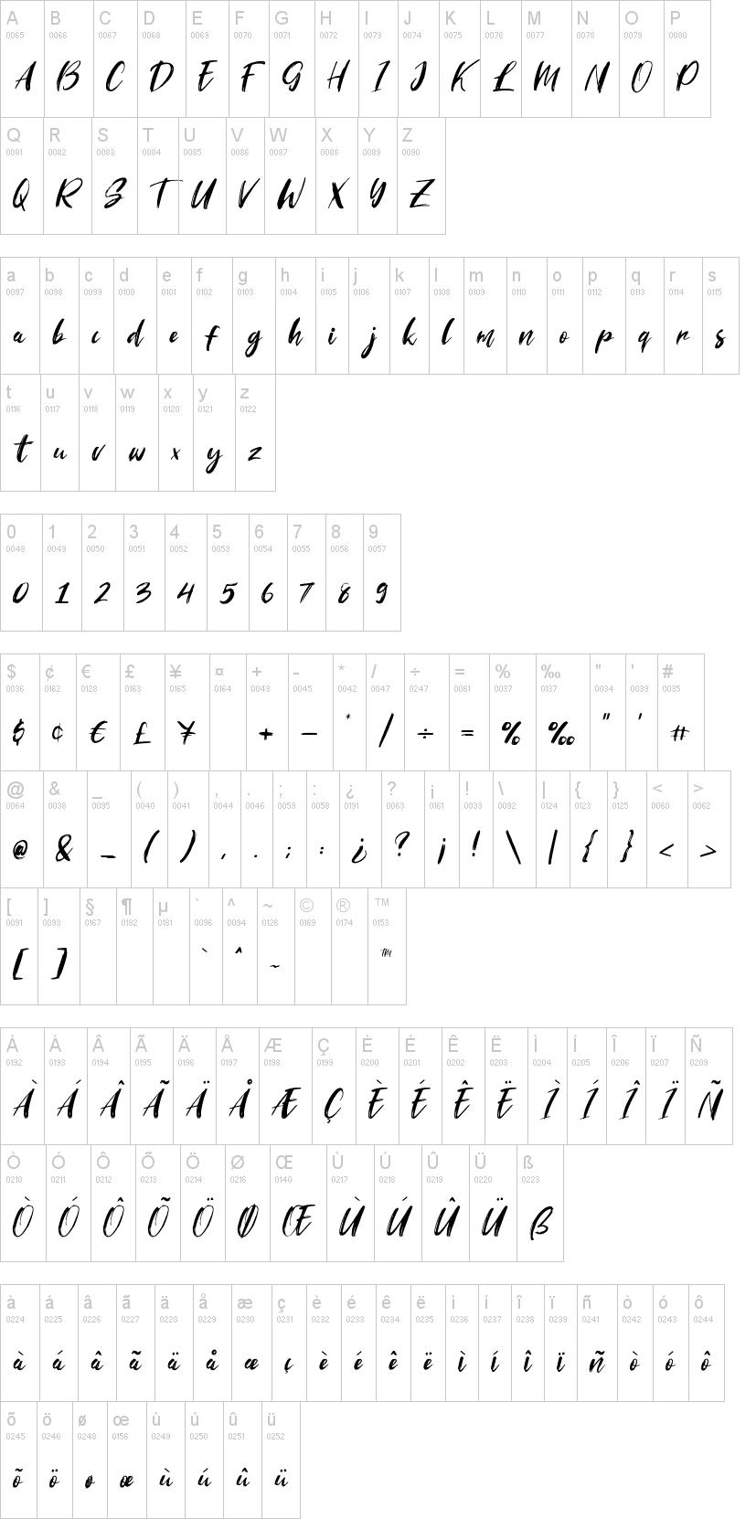 Striverx Font-1