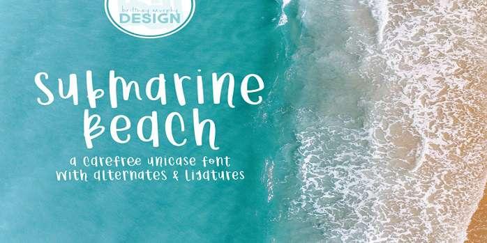 Submarine Beach Font