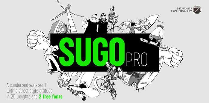 Sugo Pro Classic Font