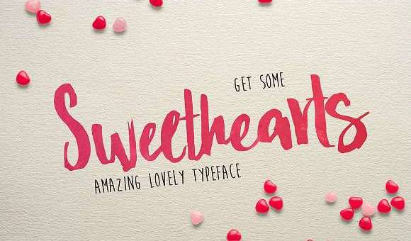 Sweat Hearts BV Font
