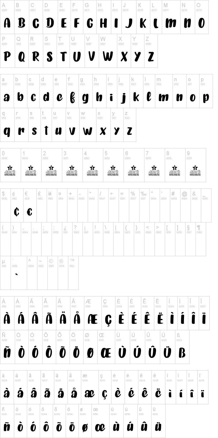 Tan Pumpkins Font-1