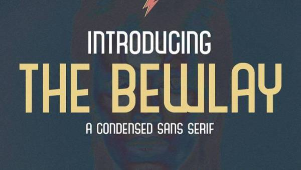 The Bewlay Typeface